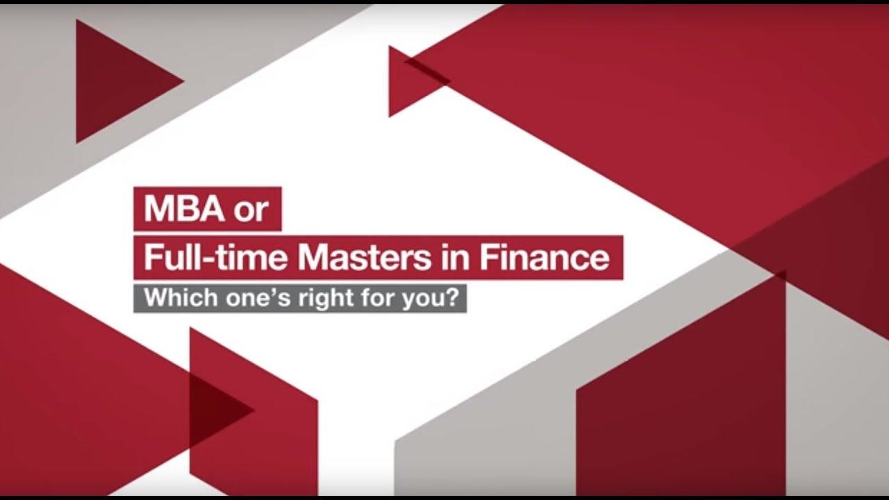 Mba Finance Careers