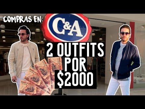 COMPRANDO $2000 EN C&A | JR Style