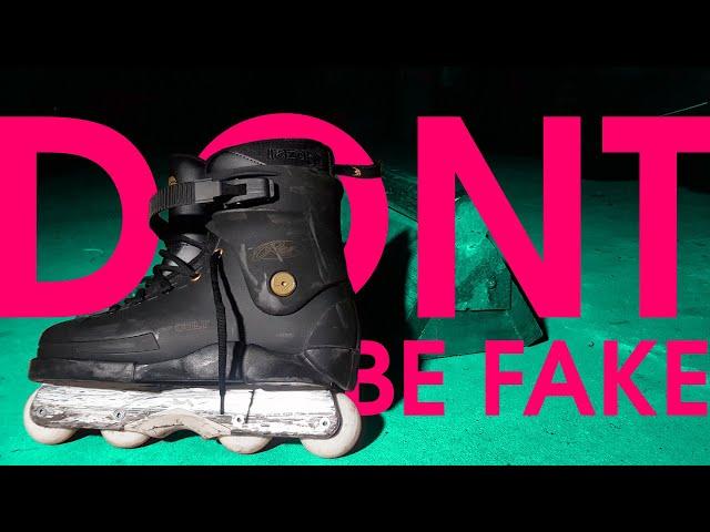 DONT BE FAKE