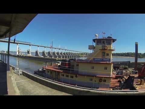 "Meet Alan ""Redbone"" Best, Towboat Captain on the Arkansas River"