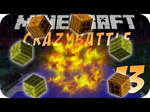 Minecraft CRAZY BATTLE #13 - Easter Egg TNT