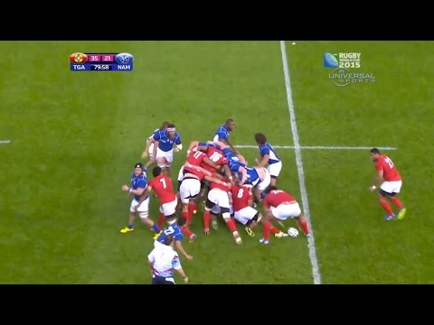 Tonga beats Namibia in Rugby World Cup - Universal Sports