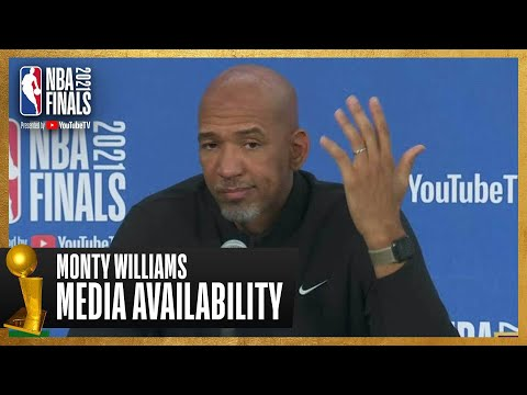 Coach Monty Williams Game 1 Postgame Press Conference   #NBAFinals