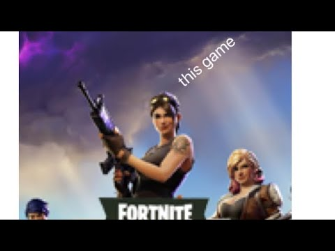Fortnite gameplay for the first time