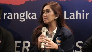 Alasan Nafa Urbach Rencanakan Jadi Calon Legislatif
