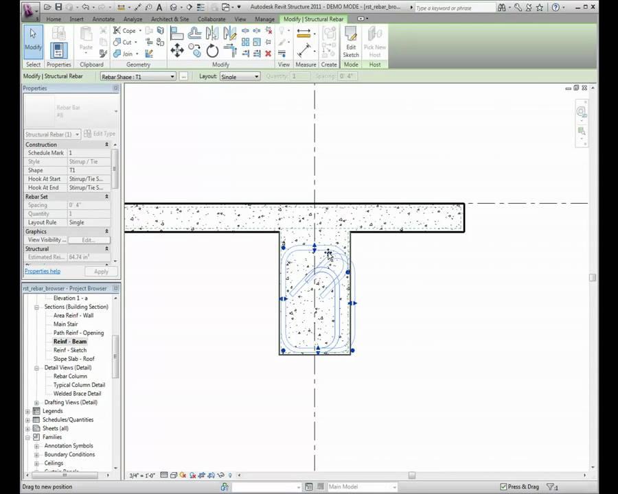 Autodesk Revit Structure: Using the Rebar Shape Browser