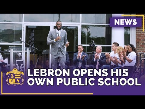 Lakers News: LeBron James Opens the 'I Promise School' in His Hometown of Akron