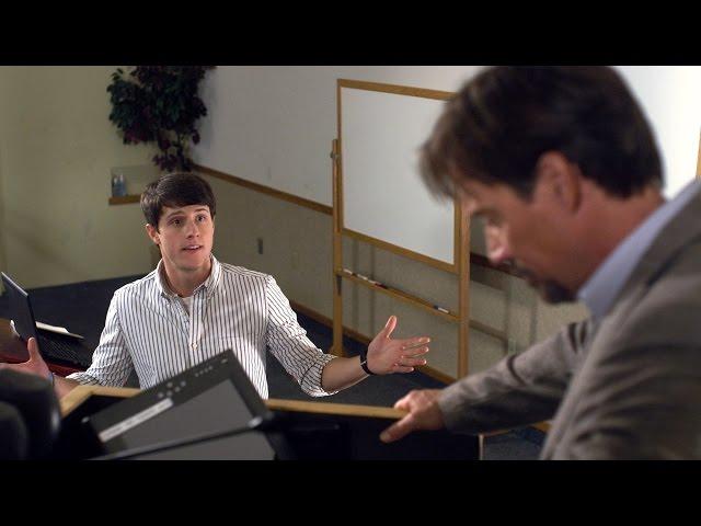 神を巡って学生と教授が言論バトル!映画『神は死んだのか』予告編