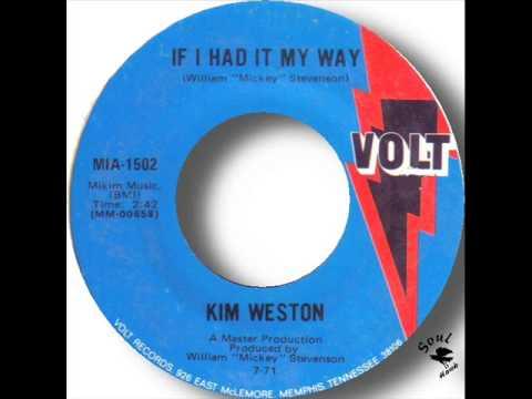 Kim Weston  If I Had It My Way
