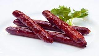 Как приготовить колбаски на гриле. | How to cook sausages on the grill.