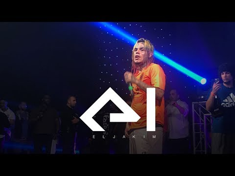 6ix9ine saves a fan of aggressive security & Willam Asher throws 6ix9ine's shoe into the audience