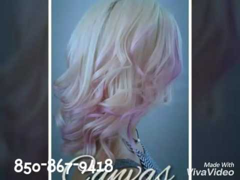 Canvas hair color salonThe best hair color salon in Panama city Beach