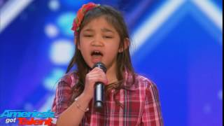 America's Got Talent 2017 - Simon doesn't like Angelica Hale
