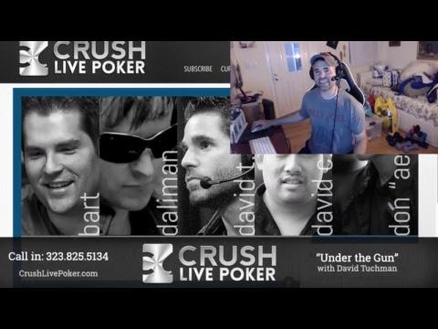 Poker Podcast; Under the Gun w David Tuchman #98 -- Sean McCormack  5/3/17