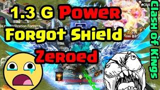 Clash of Kings - 1.3 G Power got Shakalaka'd   DraGONE Prince 😅😁