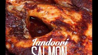 Tandoori Salmon With Kachumber Salad •blvdbites.