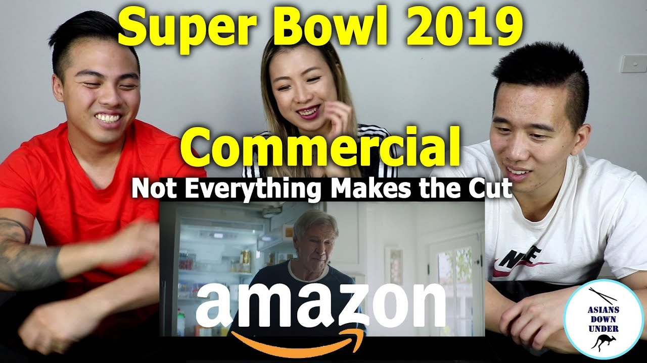 dcd622b3d Not Everything Makes the Cut – Amazon Super Bowl LIII Commercial ...