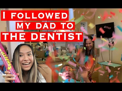 I FOLLOWED MY DAD TO THE DENTIST | Kylie Moy