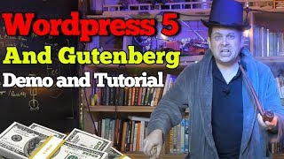 Wordpress 5 Gutenberg Demo, How To Use And Remove The Gutenberg Plugin  - Easy Tutorial