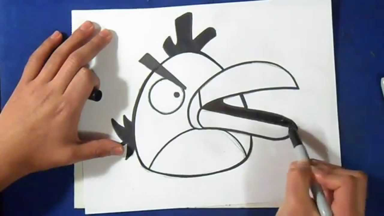 Como Desenhar Passaro Verde Angry Birds Youtube