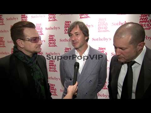 INTERVIEW - Bono speaks about the importance of the event...