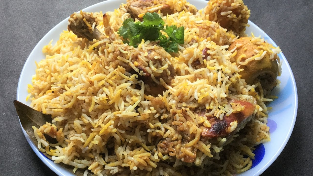 Chicken biryani kolkata style chicken biryani recipe for Awadhi cuisine kolkata