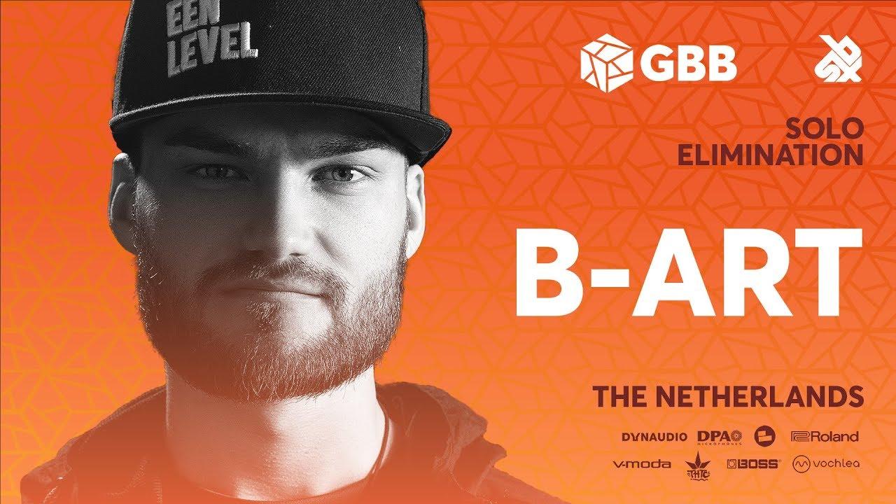B-ART   Grand Beatbox Battle 2019   Solo Elimination