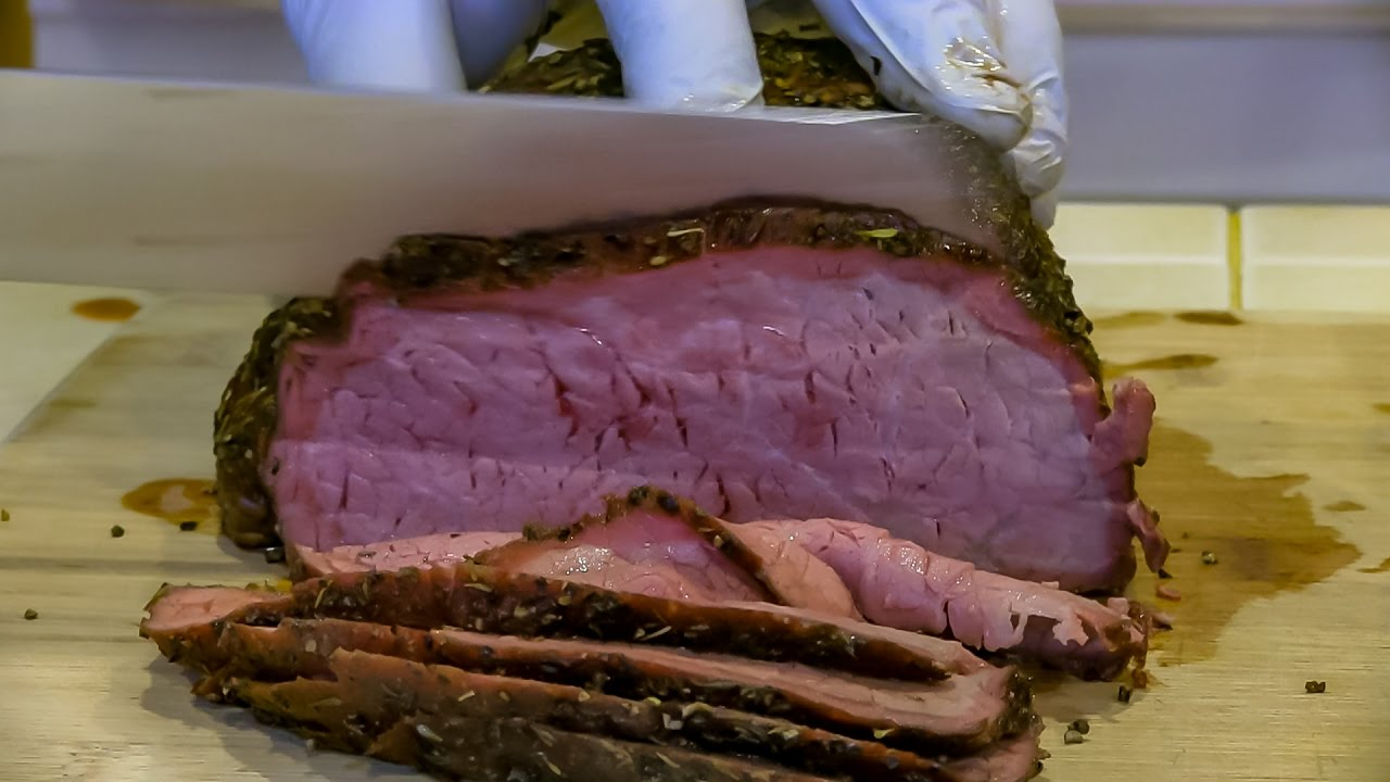 recipes round bbq Beef bottom