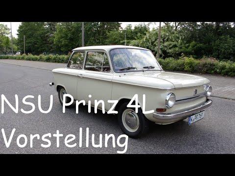 Vorstellung/Review   1969 NSU Prinz 4L   Interieur/Exterieur