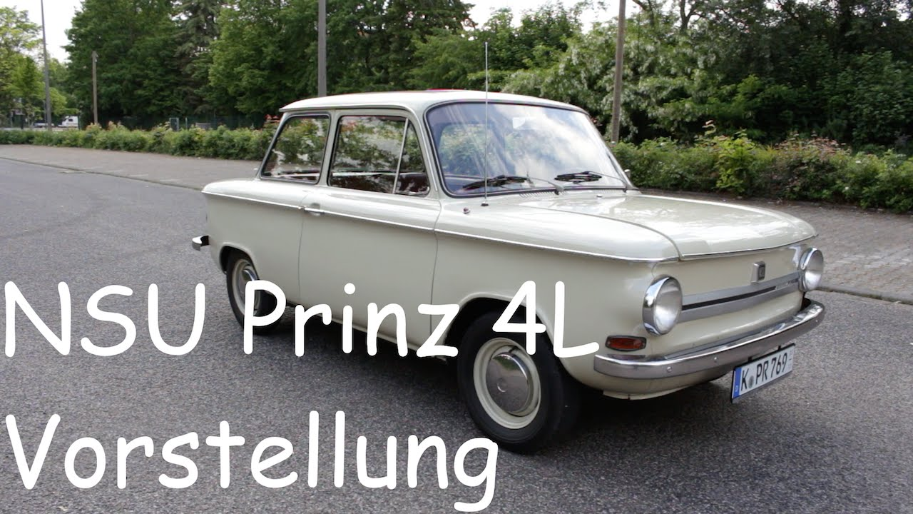 Vorstellung review 1969 nsu prinz 4l interieur for Interieur 4l