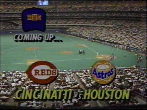 1990 MLB Opening Day: Reds at Astros