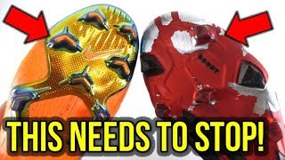 FOOTBALL BOOT WEARABLE SOLEPLATES ARE STUPID! *RANT*