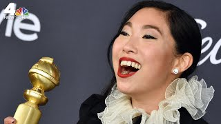 Awkwafina Takes Over Announcements on her Old Subway Line | NBC New York