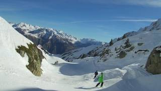 Vistamos la estaciónde Esquí de Luz Ardiden (Pirineo Francés)