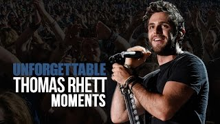 7 Unforgettable Thomas Rhett Moments