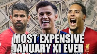 Most Expensive January XI In World Football History