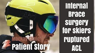 Olympic skiers remarkable recovery from ruptured ACL
