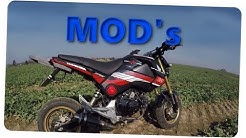 Meine Mods / Veränderungen | Honda Grom / MSX | MrJulius