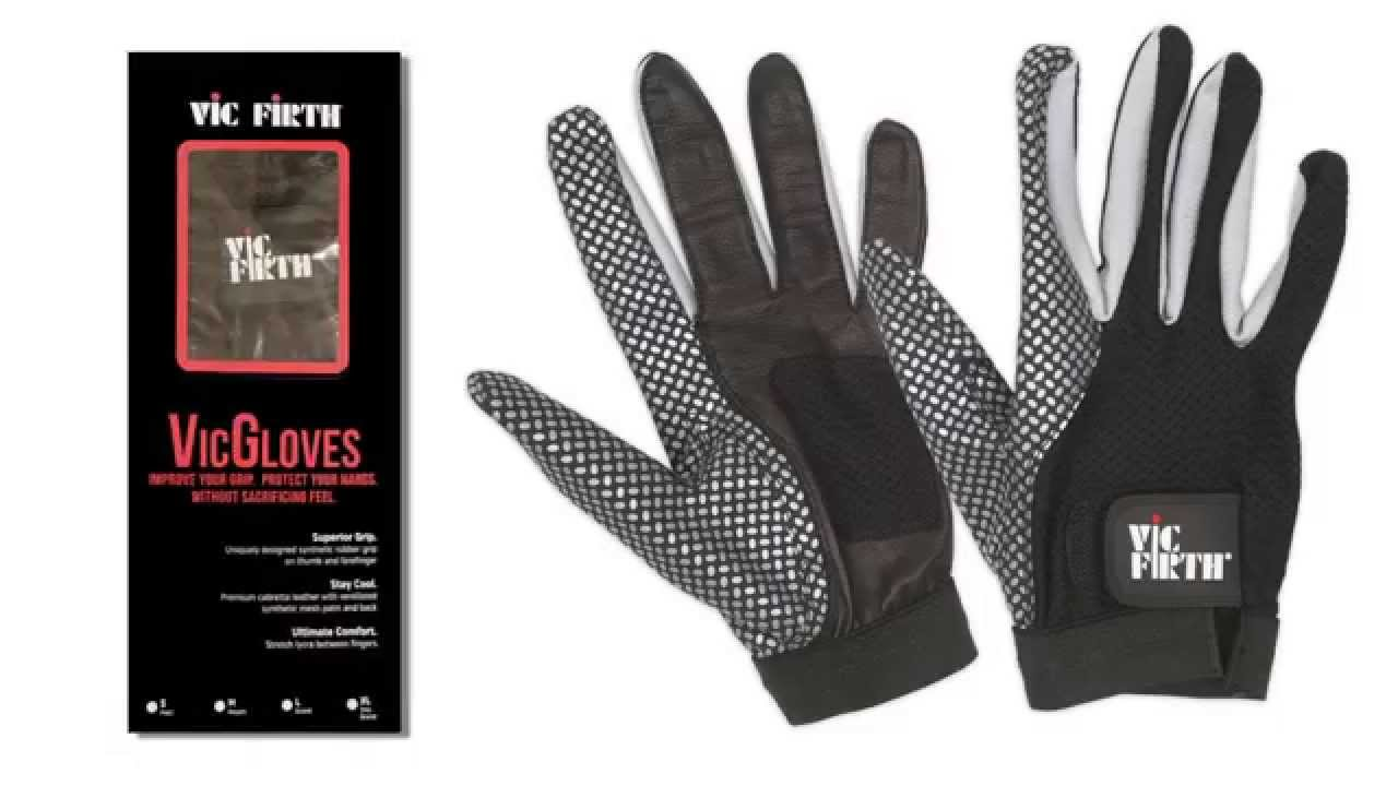 Vic Firth Drumming Gloves Large