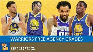 Warriors Rumors: Grading Free Agency Signings, Plus Boogie Cousins Return To Warriors?