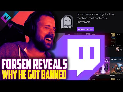 Forsen's Twitch Ban Is Concerning For Streamers