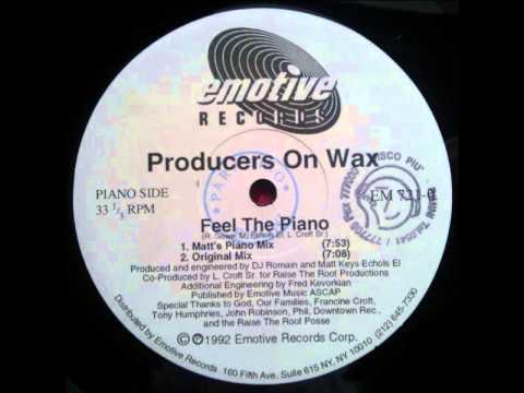 Producers On Wax -- Feel The Piano (Matt`s Piano Mix)
