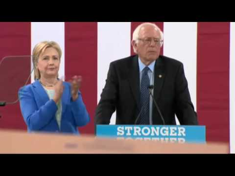 Bernie Sanders Endorses Hillary Clinton FULL SPEECH 7/12/16