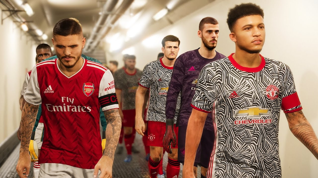 manchester united vs arsenal new kits 2020 21 ft icardi sancho fekir grealish youtube manchester united vs arsenal new kits 2020 21 ft icardi sancho fekir grealish