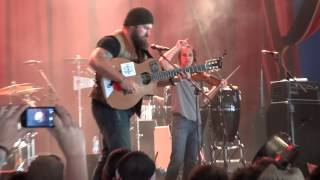 Zac Brown Band - Kashmir / Devil Went Down to Georgia / Keep Me in Mind - Glastonbury 2013