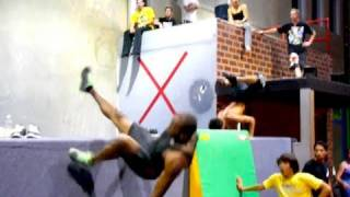 Learning Free Running - Ninja Warrior Training