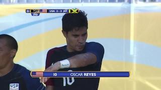 GOAL United States, Oscar REYES No. 10