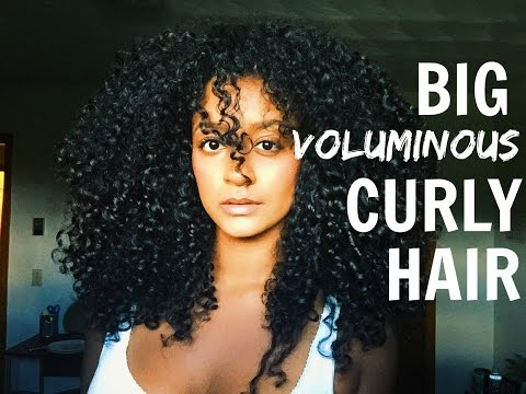 BIG Voluminous Curly Hair | Hermela Solomon thumbnail