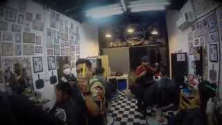 SNAPBACK BARBERSHOP | ride with me thailand