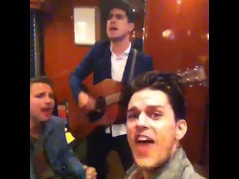 """Breakfast At Tiffany's with Brendon Urie and Kenneth Harris"" - Dallon Weekes"